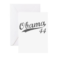 Obama, Number 44 Greeting Cards (Pk of 20)