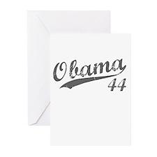 Obama, Number 44 Greeting Cards (Pk of 10)