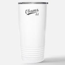 Obama, Number 44 Stainless Steel Travel Mug