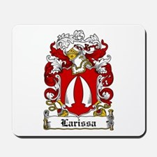 Larissa Family Crest Mousepad