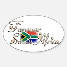 Forever South Africa - Oval Decal
