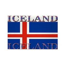 Iceland Rectangle Magnet (10 pack)