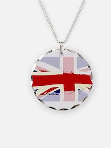 UK Flag Splash Necklace
