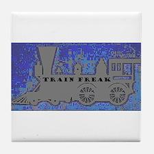 Train Freak Tile Coaster