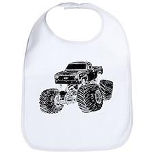 Monster Pickup Truck Bib