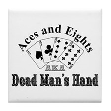 Aces and Eights Tile Coaster