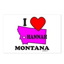 Hannah, Montana Postcards (Package of 8)