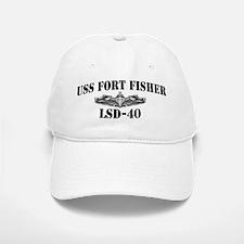 USS FORT FISHER Baseball Baseball Cap