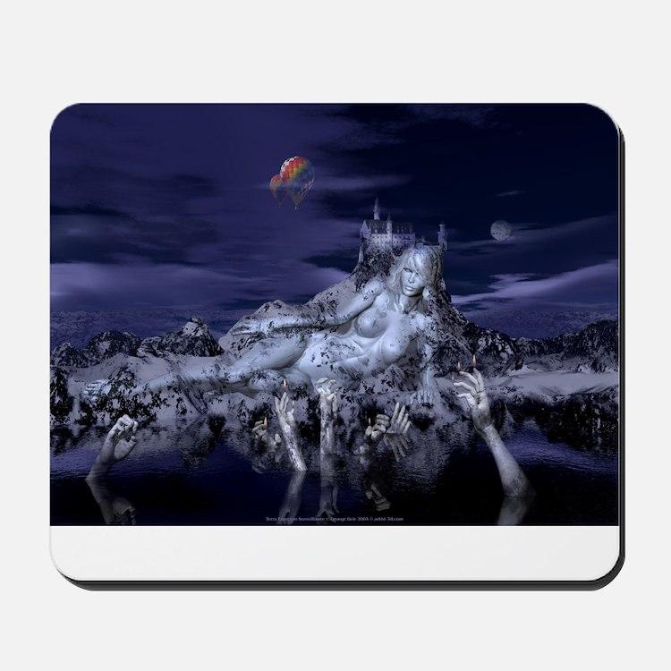 Terra Exorcism Surveillance:  Mousepad