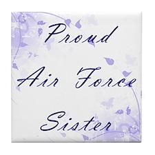Proud Sister Tile Coaster