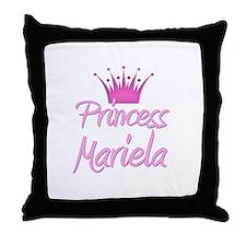 Princess Mariela Throw Pillow