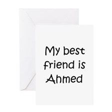 Ahmed Greeting Card