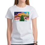XmasMusic 2MC/Newfie Women's T-Shirt
