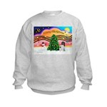 XmasMusic 2MC/Newfie Kids Sweatshirt