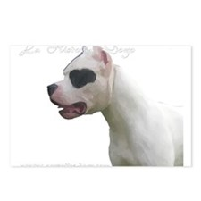 Cute Argentine mastiff Postcards (Package of 8)