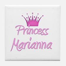 Princess Marianna Tile Coaster