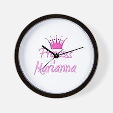 Princess Marianna Wall Clock