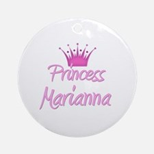 Princess Marianna Ornament (Round)