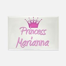Princess Marianna Rectangle Magnet