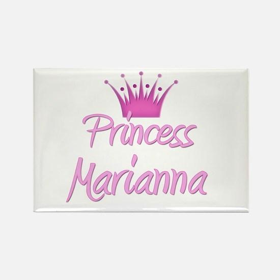 Princess Marianna Rectangle Magnet