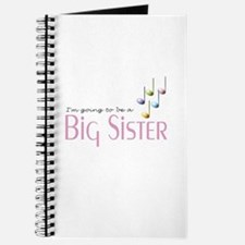 Music Notes Big Sister Journal