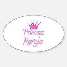 Princess Margie Oval Decal