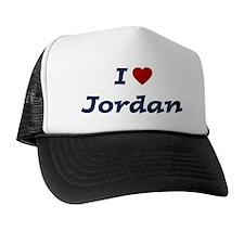 I HEART JORDAN Trucker Hat