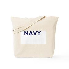 NAVY logo Tote Bag