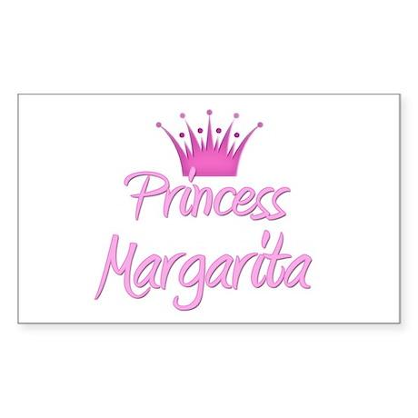 Princess Margarita Rectangle Sticker