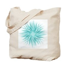 Blue Starburst Tote Bag