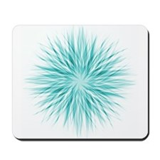 Blue Starburst Mousepad
