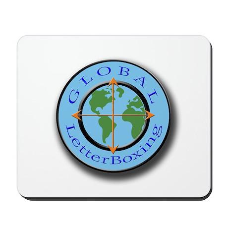 GlobalLetterBoxing Logo Mousepad