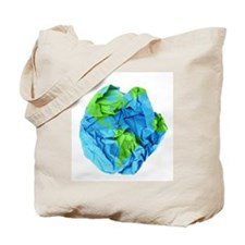 Crumpled Earth Tote Bag