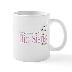Music Notes Big Sister Again Mug