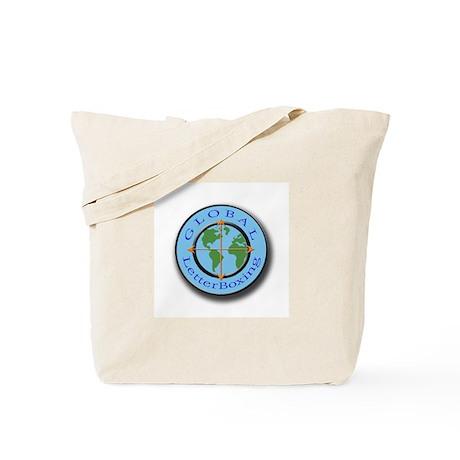 GlobalLetterBoxing Logo Tote Bag