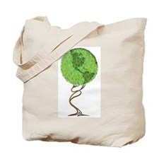 Topiary Tree Tote Bag