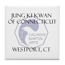 Unique Hapkido Tile Coaster