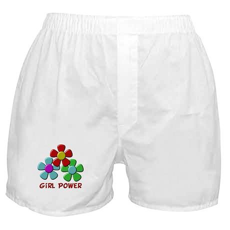 Girl Power Boxer Shorts