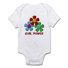 Girl Power Infant Bodysuit
