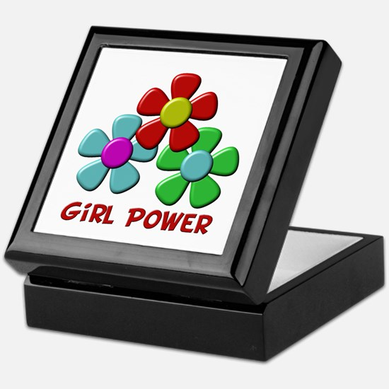 Girl Power Keepsake Box