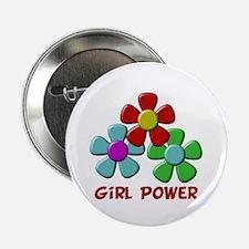 "Girl Power 2.25"" Button (10 pack)"