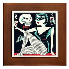 Love and Death - Framed Tile