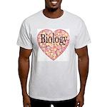 Love Biology Ash Grey T-Shirt