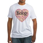 Love Biology Fitted T-Shirt