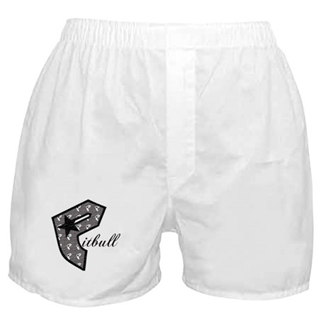 P Is For Pitbull Boxer Shorts