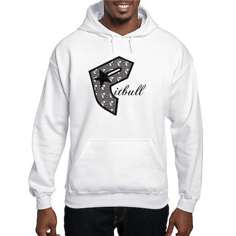 P Is For Pitbull Hooded Sweatshirt