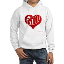 Emily (Red Heart) Hoodie