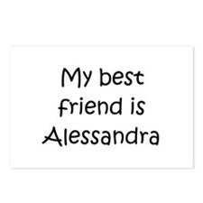 Cool Alessandra Postcards (Package of 8)
