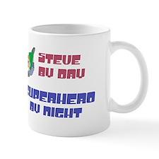Steve - Super Hero by Night Mug