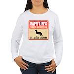 German Shepherd Dog Women's Long Sleeve T-Shirt